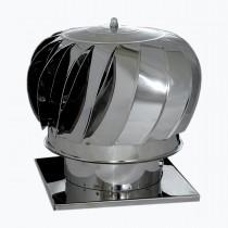 Pălărie rotativă inox 170mm cu talpa 24cm x 24cm