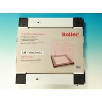 Roller stand rectangular white